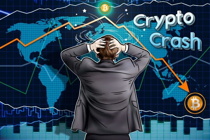 cryptocurrency markets crashing