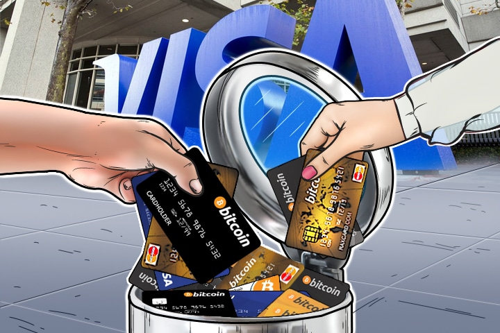 VISA Drop Several Cryptocurrency-based Debit Cards From Their Network Support