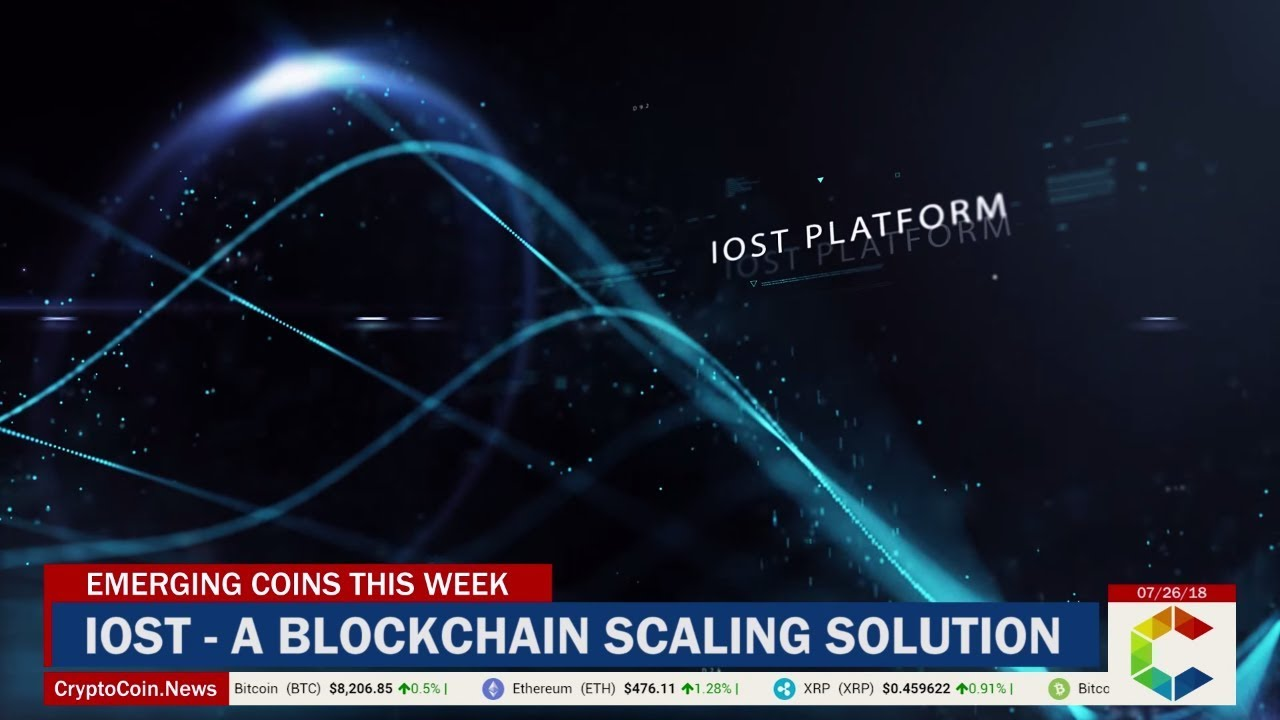 Emerging Coins This Week: IOST – A Blockchain Scaling Solution