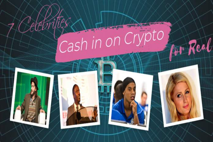7 Celebrities Cash in on Cryptocurrency for Real