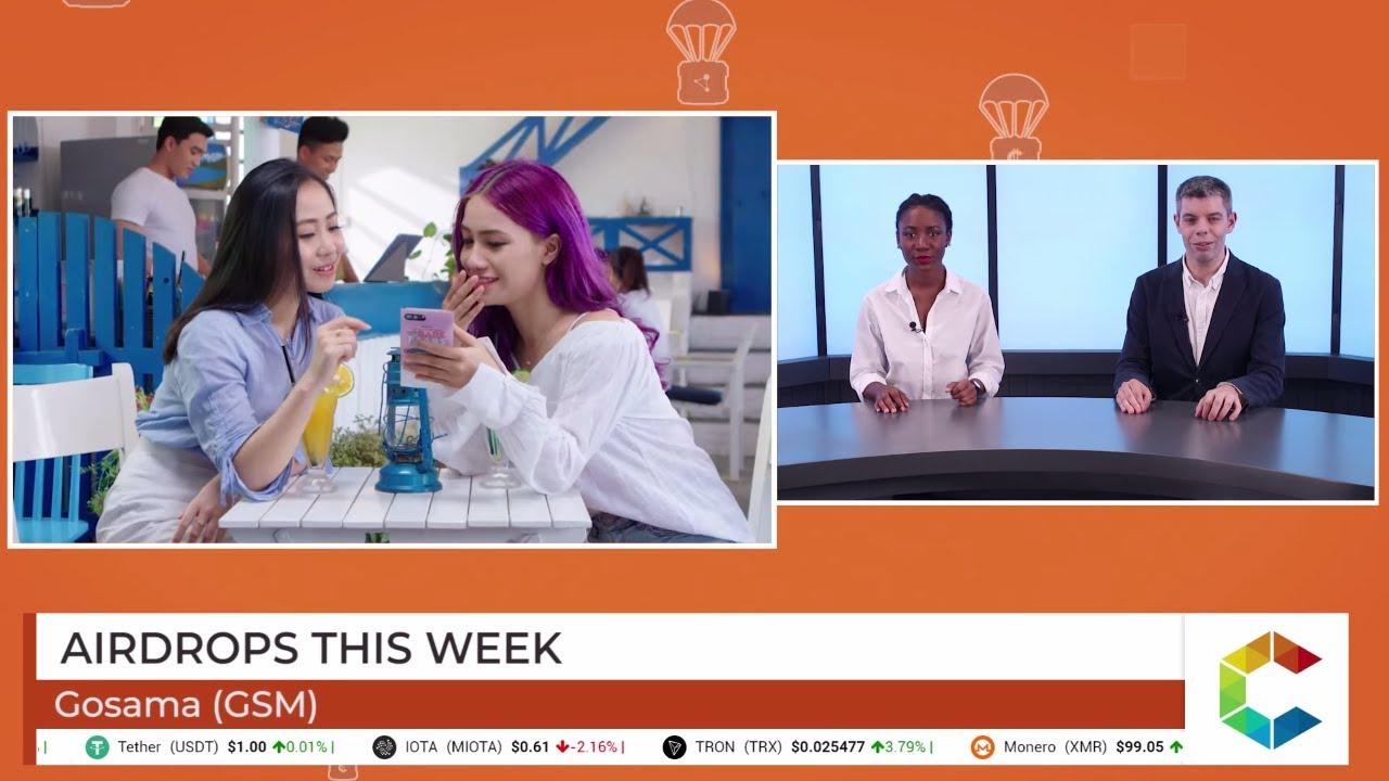 Airdrops This Week: IRide, PingPaid And Gosama